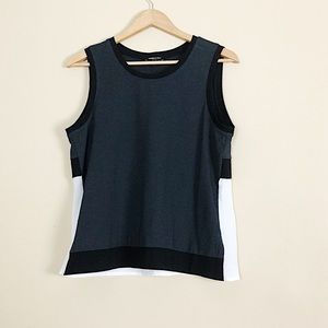 Kenneth Cole Colorblock Jersey Tank Sz L NWT